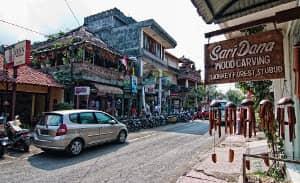 バリ島の街並み