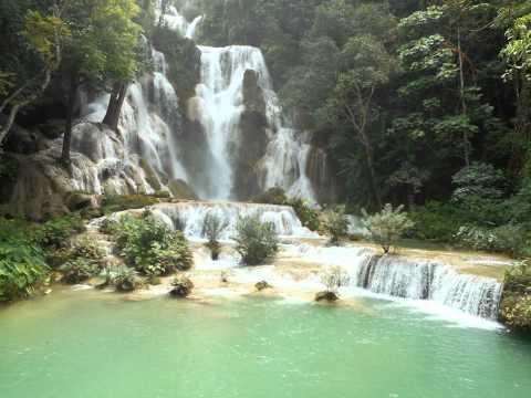 コーンパペンの滝の景色