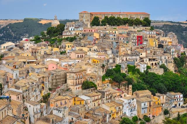 シチリアの街