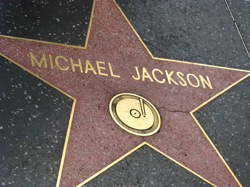 マイケル・ジャクソンのプレート