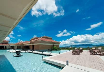 ザ・リッツ・カールトン沖縄での景色