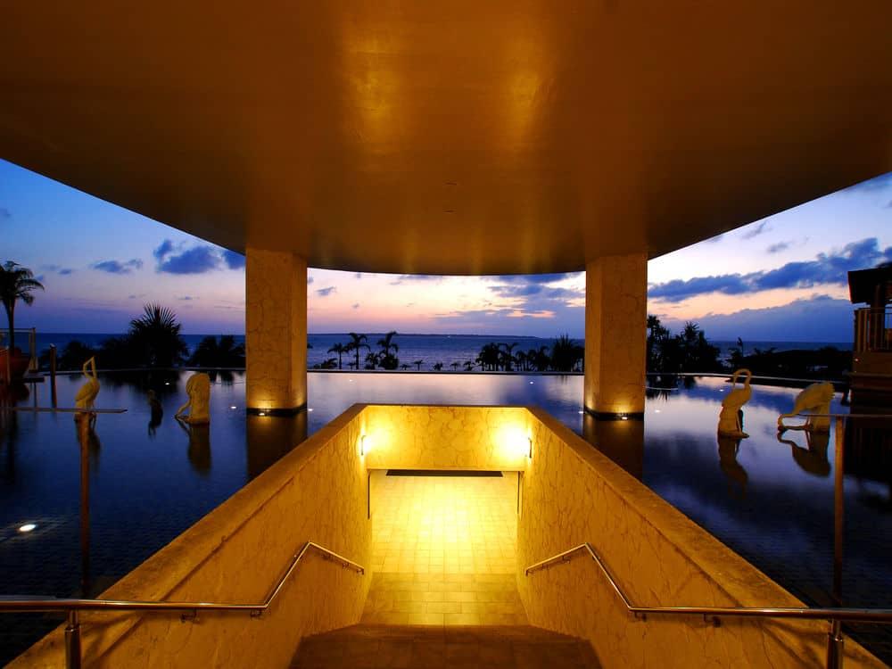 石垣リゾートグランヴィリオホテルでの景色