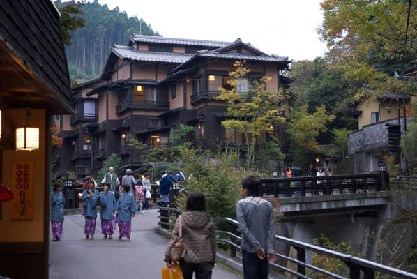 黒川温泉の画像