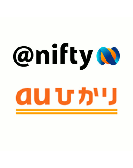 @nifty/auひかりロゴ