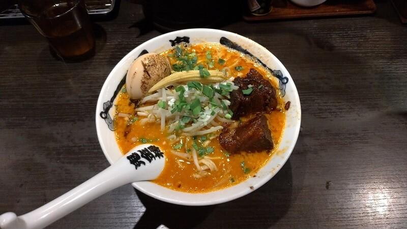 ウルクスラーメン部日記(神田/鬼金棒 カラシビ味噌らー麺)